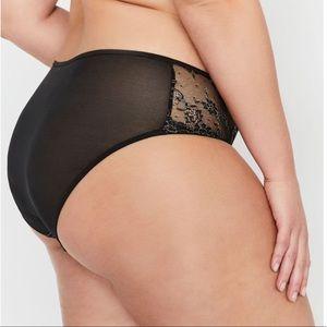 Ashley Graham Essentials High Cut Lace Panty